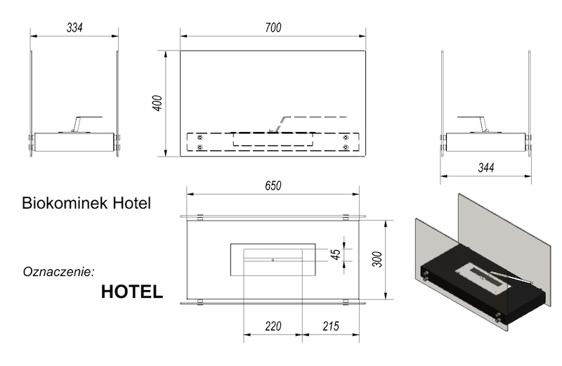 Біокамін Hotel  - 1