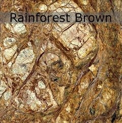 Мрамор Rainforest Brown